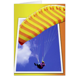 Paraglider cut-out card