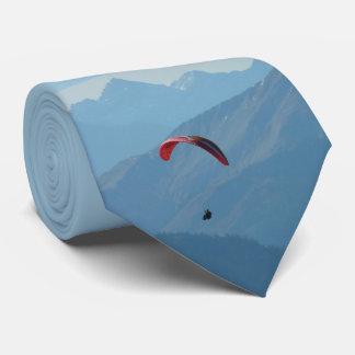 Paraglider Paragliding Blue Sky Tie
