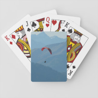 Paraglider Paragliding Fly Playing Cards