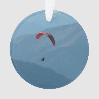 Paraglider Paragliding Para Glide Ornament