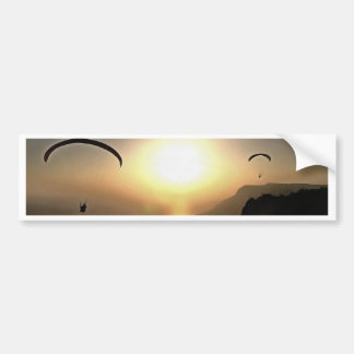 Paragliders Flying Without Wings Bumper Sticker