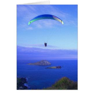 Paragliding at Makapuu Card