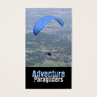 Aerial photography business cards business card printing zazzle paragliding business card reheart Choice Image