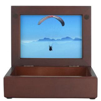 Paragliding gerlitz glacier keepsake box