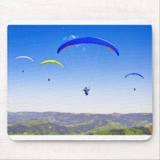 Paragliding into the Black Forest Mouse Pad
