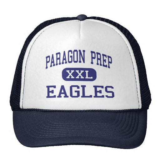Paragon Prep Eagles Middle Austin Texas Trucker Hat