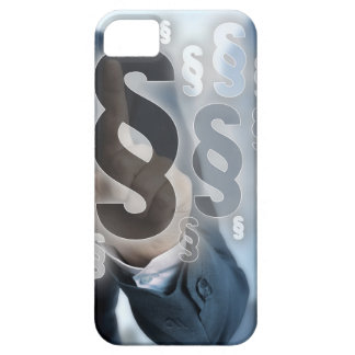 Paragraphs are selected by businessman iPhone 5 cover