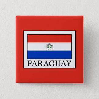 Paraguay 15 Cm Square Badge