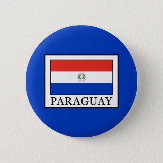 Paraguay 6 Cm Round Badge