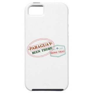 Paraguay Been There Done That Tough iPhone 5 Case