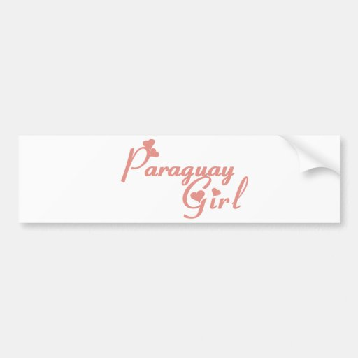 Paraguay Bumper Stickers