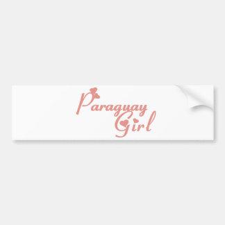 Paraguay Car Bumper Sticker