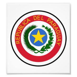 Paraguay Coat Of Arms Photo