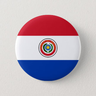 Paraguay Flag Button