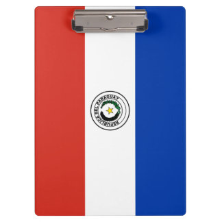Paraguay Flag Clipboard