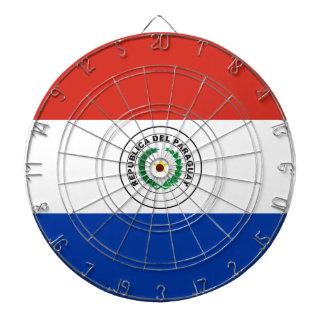 Paraguay Flag Dartboard
