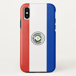 Paraguay Flag iPhone X Case