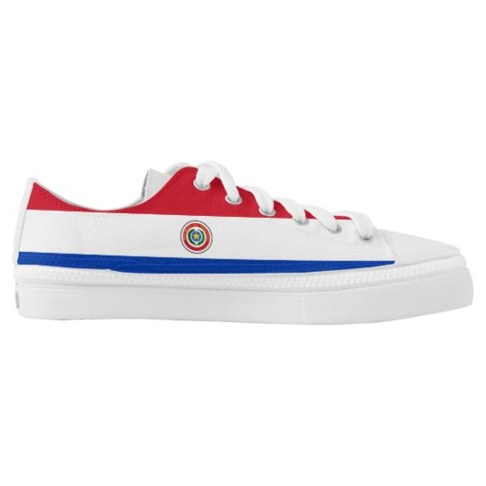 Paraguay Flag Low Tops