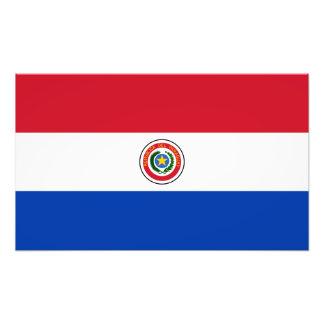 Paraguay Flag (Obverse Side) Photo Print