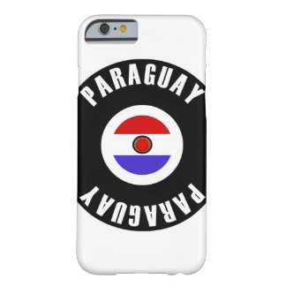 Paraguay Flag Simple Barely There iPhone 6 Case