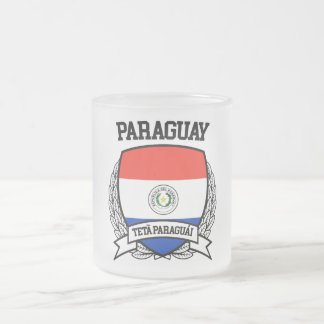 Paraguay Frosted Glass Coffee Mug