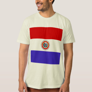 Paraguay High quality Flag T-Shirt