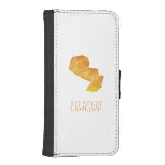 Paraguay iPhone SE/5/5s Wallet Case