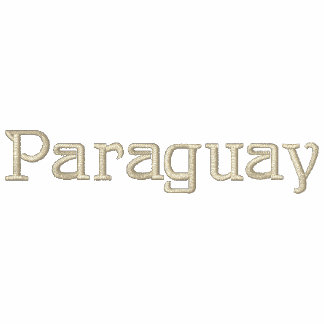 PARAGUAY Patriotic Embroidered Designer Shirt