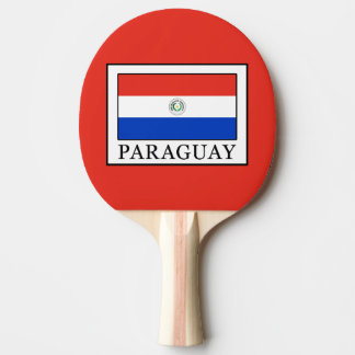 Paraguay Ping Pong Paddle