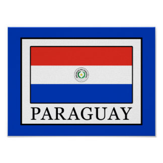 Paraguay Poster