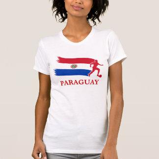 Paraguay Soccer Flag T-Shirt