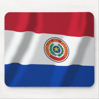 Paraguay Waving Flag Mouse Pads