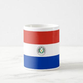 Paraguay World Flag Basic White Mug