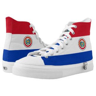 Paraguayan Flag High Tops