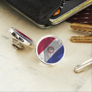 Paraguayan flag lapel pin