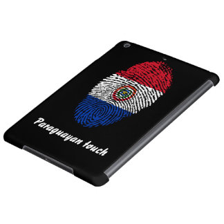Paraguayan touch fingerprint flag cover for iPad air