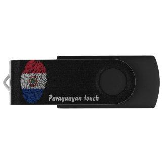 Paraguayan touch fingerprint flag USB flash drive