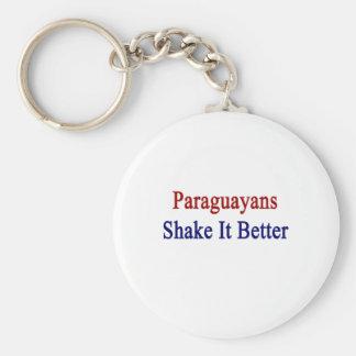 Paraguayans Shake It Better Key Chains