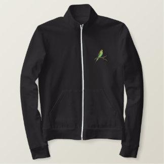 Parakeet Embroidered Jacket