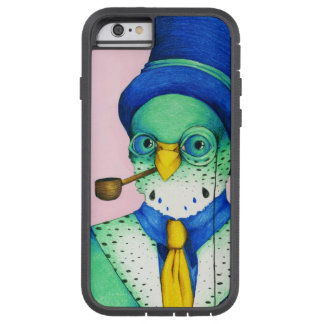 Parakeet Male Bird Hand Drawn Colorful Artwork Tough Xtreme iPhone 6 Case