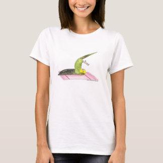 Parakeet Plow pose T-Shirt