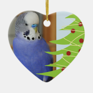 Parakeet Tweet Christmas Decoration
