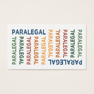 Paralegal Cute Colorful