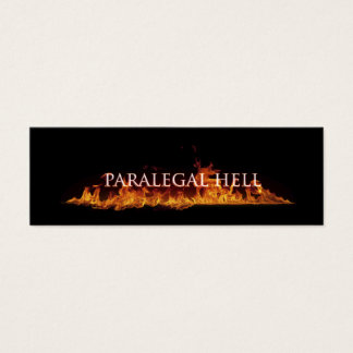 Paralegal Hell Business Card