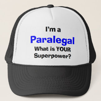 paralegal trucker hat