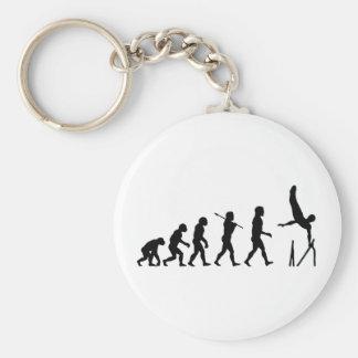 Parallel Bars Gymnastics Evolution Key Ring