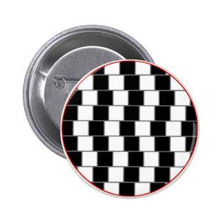 Parallel Lines 6 Cm Round Badge