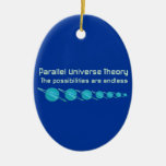 Parallel Universe Theory Christmas Ornaments
