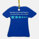 Parallel Universe Theory Christmas Tree Ornaments