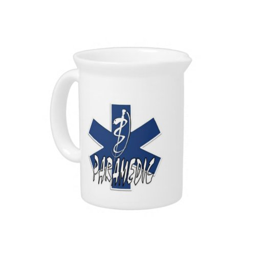 Paramedic Active Duty Beverage Pitcher